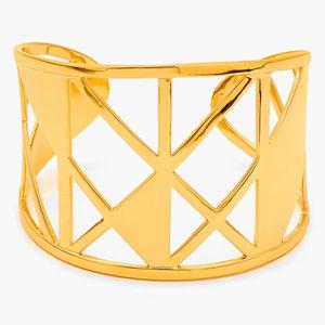 GORJANA Maya Gold Cuff Bracelet New no tag